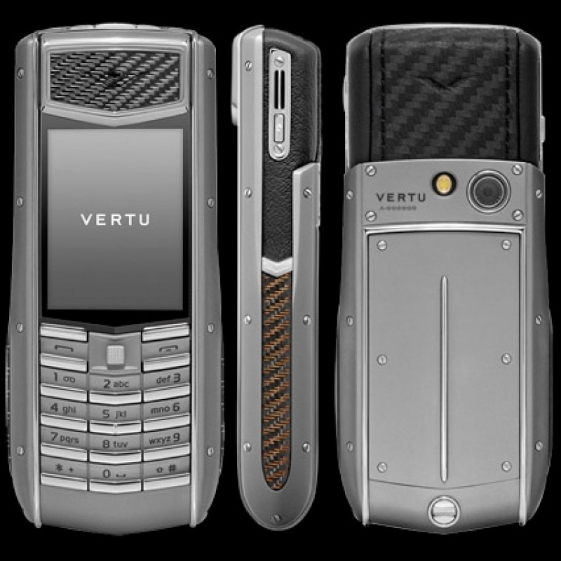 Vertu Ascent Ti Carbon Fibre & Aluminium Grip